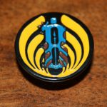 Bassnectar Modified Logo Vavavoom Enamel Hat Pin