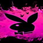 Black And Pink Playboy Bunny Logo Google Homepage