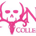 Bone Collector Logo Flat Decal Pink Qty