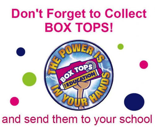 Box Top For Education Products