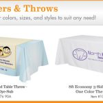 Browse Trade Show Table Covers Custom Imprinted Runners