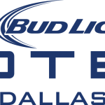 Bud Light Hotel Dallas Logo Blue