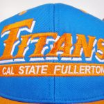 Cal State Fullerton Titans Snapback Hat Blue Basic Logo Eclipse Ncaa