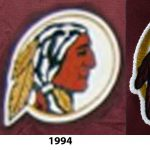 Comparing The Native American Head Logos From Original And