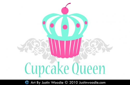 Cupcake Queen Logo Justin Woodie Justinwoodiecom Picture