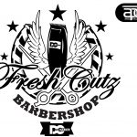 Cutz Barbershop Logo Shaddo Angel Designs Interfaces Logos