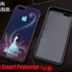 Disney Elsa Frozen Apple Logo For Iphone