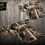 Drake Waterfowl Logo Visor Shadowgrass Blades Camo