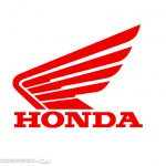 Each One Them The Honda Motorcycles Have Wings Logo