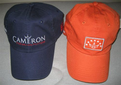 For Sale Scotty Cameron Orange Navy Unstructured Caps