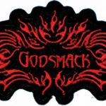 Godsmack Iron Patch Red Fire Logo