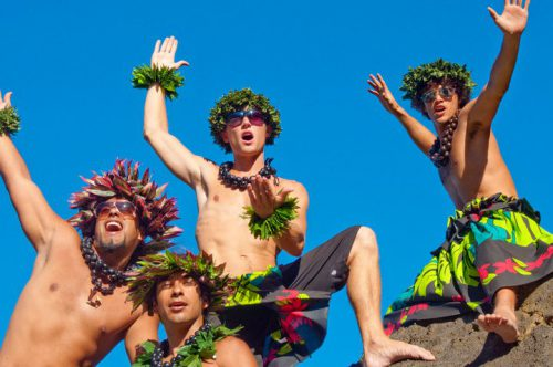 Hot Hawaiian Men