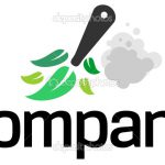 House Cleaning Service Logo Stock Illustration