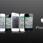 Iphone Apple Logo Dark And Widescreen