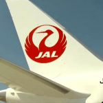 Japan Airlines Logo Boeing Tail Fin