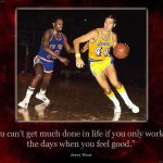 Jerry West Teaches The Proper Way Shooting Ball And