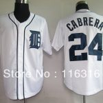 Jersey Detroit Font Tigers Cabrera Embroidery Logos