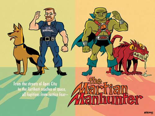 Jon Had This Say About His Take The Martian Manhunter