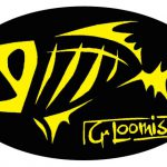 Loomis Skeleton Fish Decal