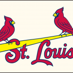 Louis Cardinals Jersey Logo Red And Blue