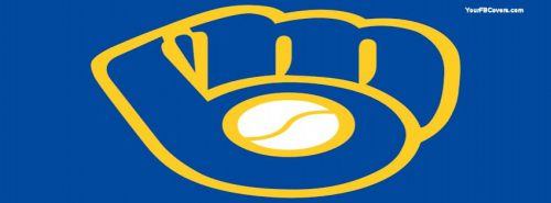 Milwaukee Brewers Logo Facebook Timeline Cover For Pro Page