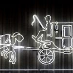 Neon Horse And Carriage