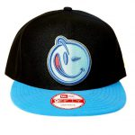 New Era Yums Black Blue Logo