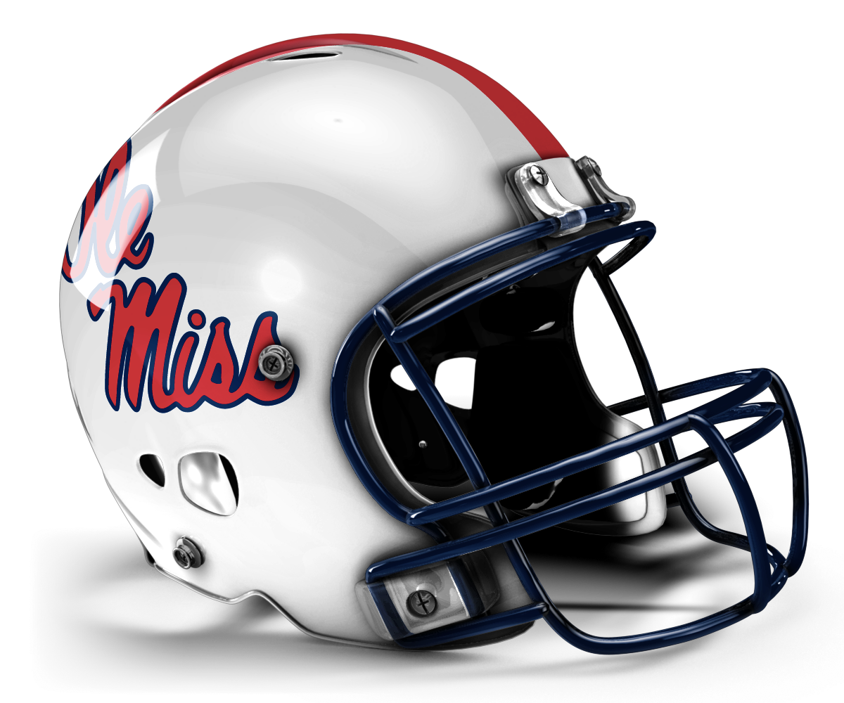 Not Fan Ole Miss The White And Wouldn Look Good