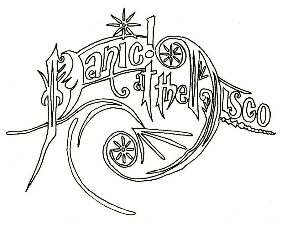 Panic The Disco Logo Font
