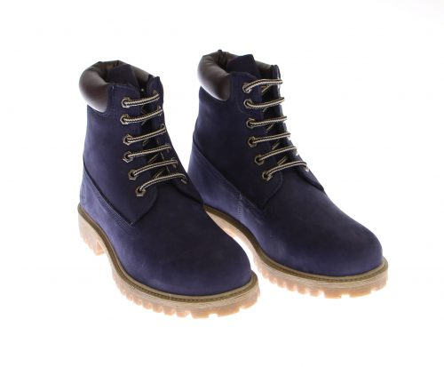 Polo Assn Darkblue Leather Boots Skinn Ngor Vlar