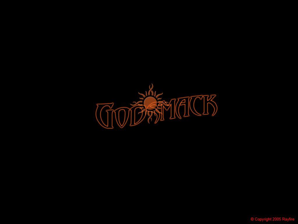 Simple Godsmack Logo Design Rayfire