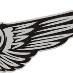 Simple Logo Wings Special For Fans