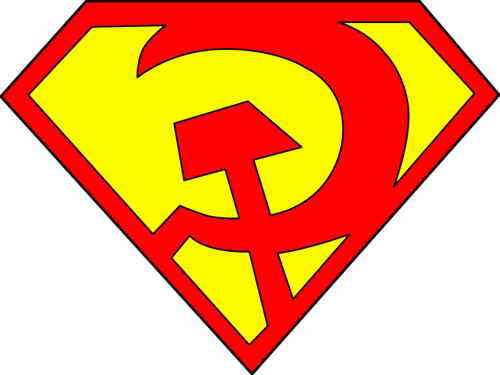 Superman Ussr Logo Outline Droy Deviantart
