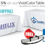 Table Covers Throws Drapes Runners Custom Printed Your Logo