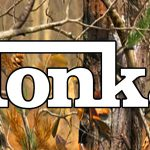 Tonka Logo Camouflage License Plate