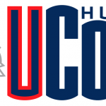 Uconn Huskies Wordmark Logo Husky Head Besides
