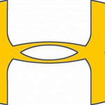 Under Armor Logo Yellow And Royal Blue