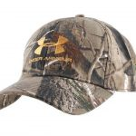 Under Armour Adjustable Cap Synthetic Blend Realtree Camo Large