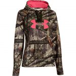 Under Armour Women Big Logo Hooded Sweatshirt Polyester Realtree