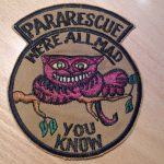 Usaf Pararescue All Mad You Know Cheshire Cat Patch