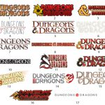 Working Logos For The Dungeons And Dragons Rpg Series