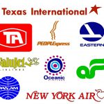 Airline Logos Past And Present Font Enfont