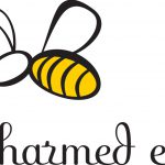 Bee Charmed Logo Design For Event And Party Organizer The