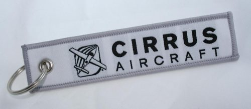 Cirrus Aircraft Logo Keychain For Pilots Owners Pilotlights