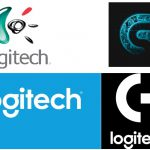 Logitech Logos Old And New