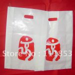 Logo Printing Services Quality Guaranteed Die Cut Shopping Plastic