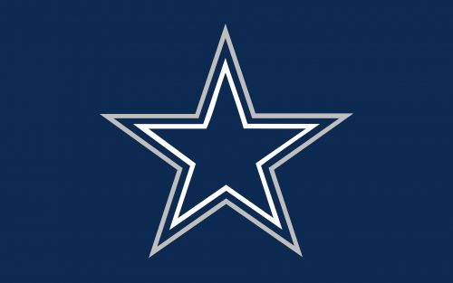 Nfl Dallas Cowboys Blue Star Logo