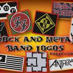 Rock And Metal Band Logos Collection