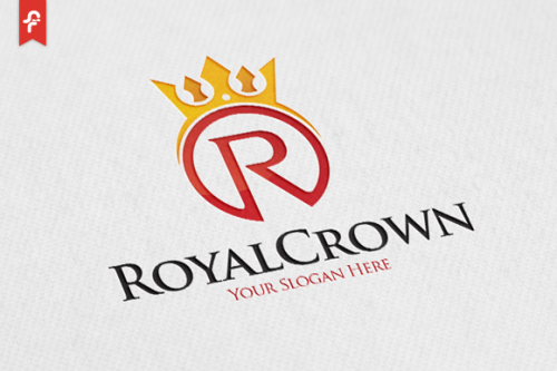 Royal Crown Logo Templates Creative Market