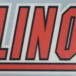 University Illinois Logo Vinyl Sticker Ebay
